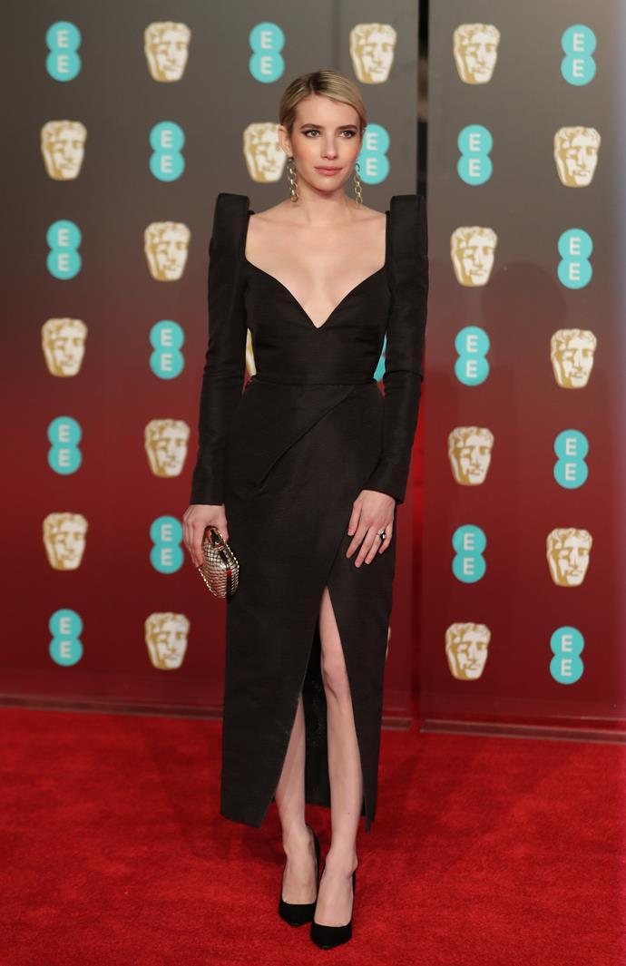 Emma Roberts in Schiaparelli Haute Couture
