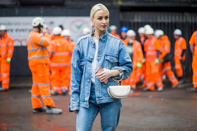 5. White Hot accessories<br><br> The fashion crowd have officially traded in black for white, with bright pops of ivory bringing a freshness to fashion month. Handbags by Céline and Off-White were crowd favourites. <br><br> Image: Getty
