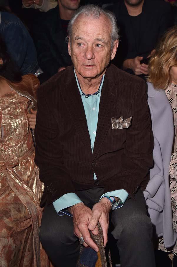 Bill Murray front row at Prada autumn winter '18.