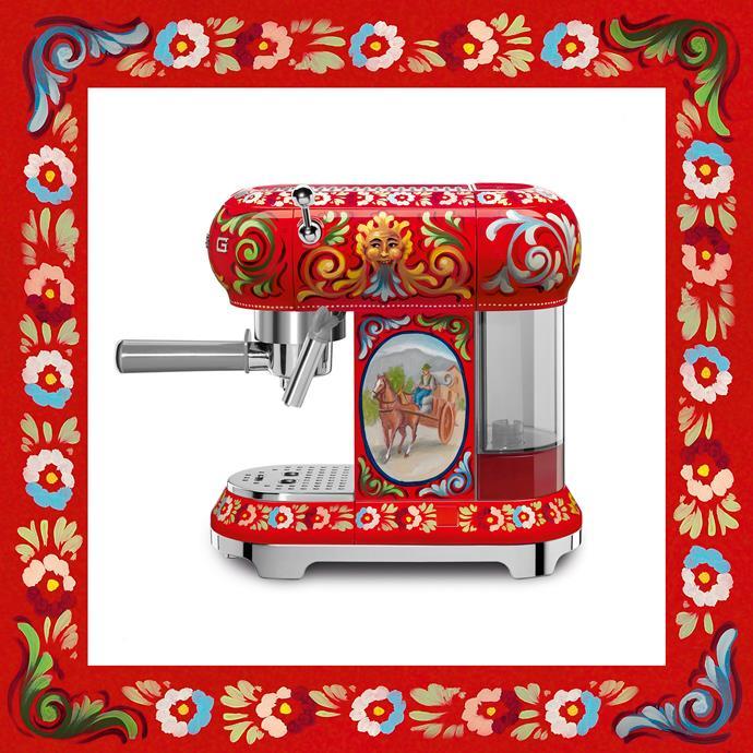 Coffee Machine, Dolce & Gabbana x Smeg