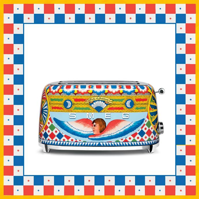 Toaster, Dolce & Gabbana x Smeg