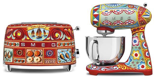 757cc07c328d Dolce   Gabbana s Smeg Kitchen Line