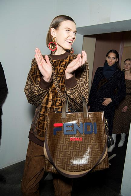Fendi autumn/winter '18 <br><br> Image: Jason Lloyd Evans