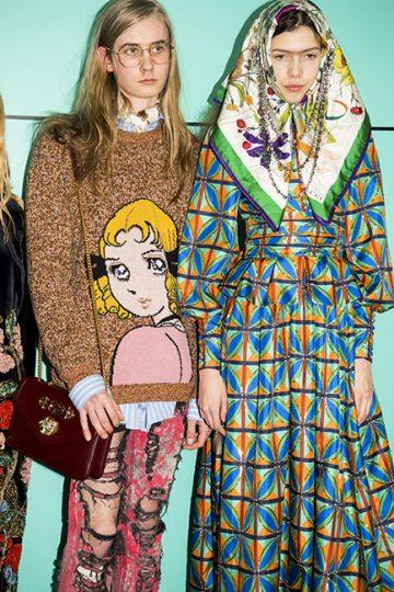Gucci autumn/winter '18 <br><br> Image: Jason Lloyd Evans