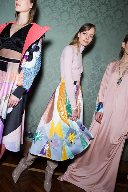 Pucci autumn/winter '18 <br><br> Image: Jason Lloyd Evans