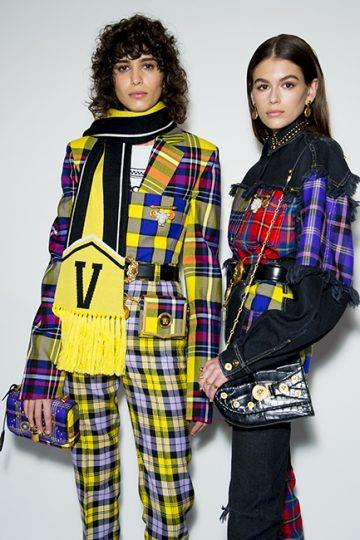 Versace autumn/winter '18 <br><br> Image: Jason Lloyd Evans