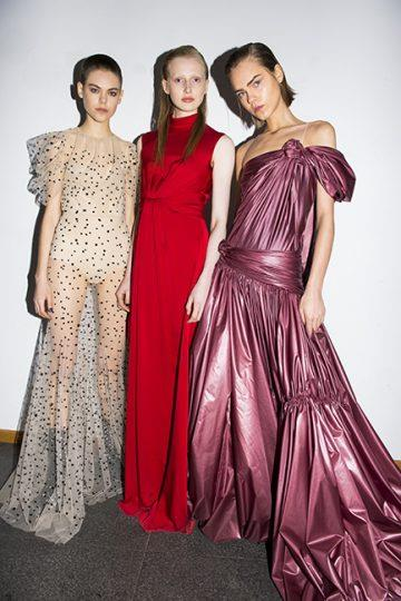 Vionnet autumn/winter '18 <br><br> Image: Jason Lloyd Evans