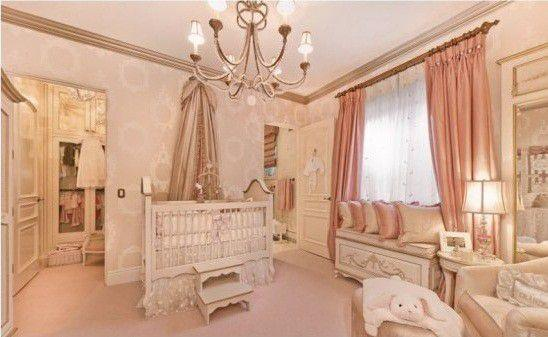 **Avery Elizabeth** <br><br> Dr Phil spent a small fortune when designing a room for his daughter, with everything the light touches a shade of baby pink. The room resembles a high-end boutique more than a nursery but hey, maybe we're just jealous.