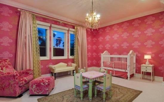 "**Stella Doreen McDermott** <br><br>  When creating her daughter's nursery, Tori Spelling kept to a very specific brief: ""vintage boudoir Parisian girlie chic."""
