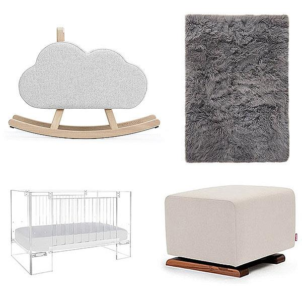 "**Chicago West** <br><br> Kim Kardashian spent at least $10,000 on just four items she says she bought for her youngest daughter's room. Money is clearly no object in the nursery refurbishment, with Kimye only wanting the best of the best for Chicago (Chi), including a luxe rug made from genuine Tibetan shearling and costs anywhere up to $6,800 alone.  <br><br> ""In Chi's nursery, I wanted to keep all the décor in neutral colors,"" Kim explained on her site. ""I love having functional pieces, like a glider, mixed in with really unique pieces, like a vintage Royère bed."""