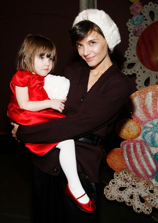 **Suri Cruise** <br><br> Tom Cruise and Katie Holmes spent over $25,000 decking out a nursery for their daughter Suri back in including a $5,000 crib, a $300 baby monitor and a $200 nappy bag from exclusive Los Angeles baby store Le Petit Tresor.