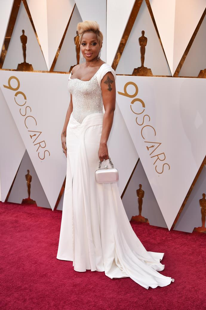 Mary J Blige in Atelier Versace