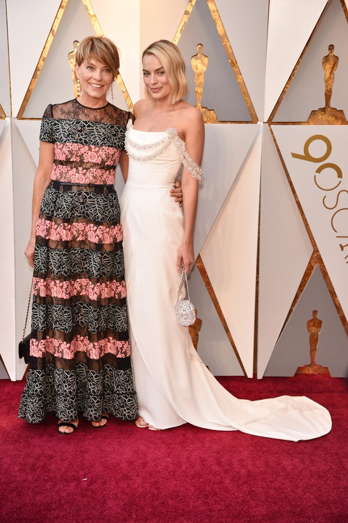 In Chanel at the Oscars