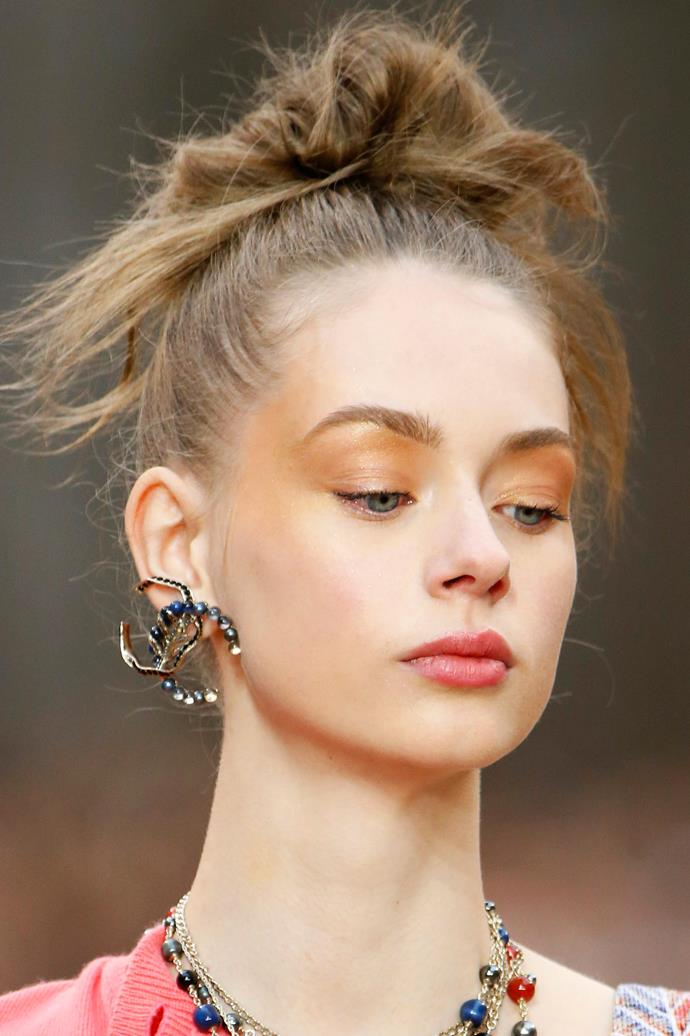 **PEACHY LIDS** <br><br> Chanel—Paris Fashion Week Autumn/Winter '18