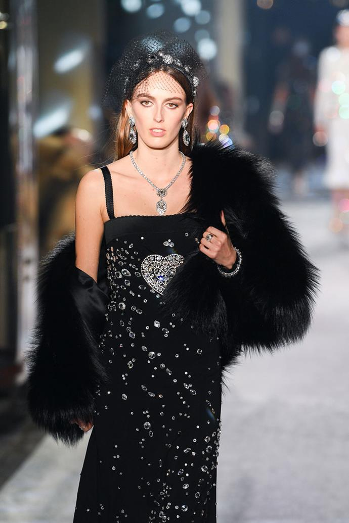 Lady Alice Manners, Dolce & Gabbana autumn/winter '18
