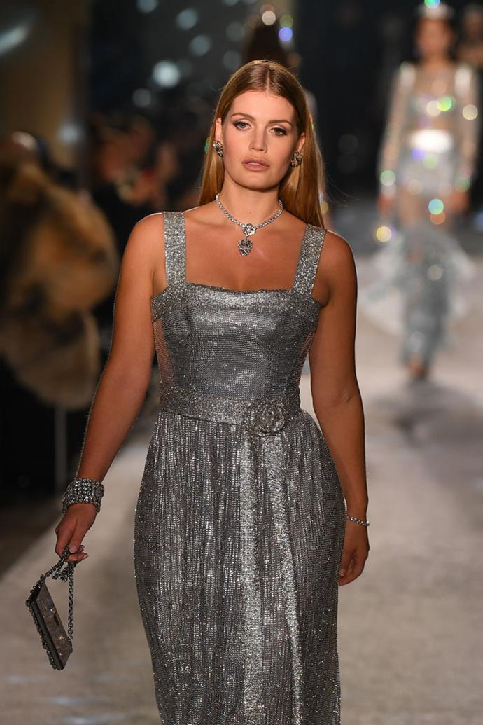 Lady Kitty Spencer, Dolce & Gabbana autumn/winter '18