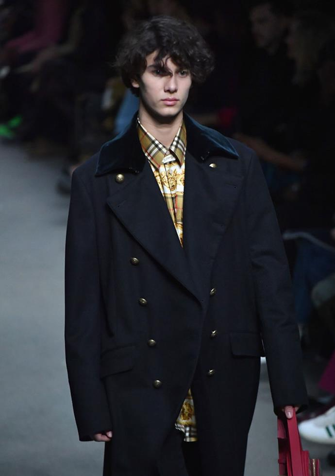 Prince Nikolai of Denmark, Burberry autumn/winter '18