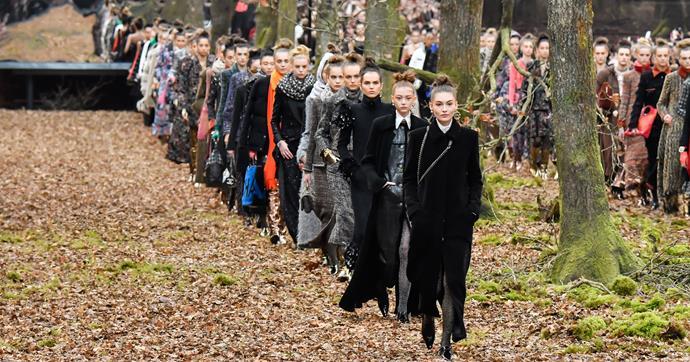 Chanel's Runway