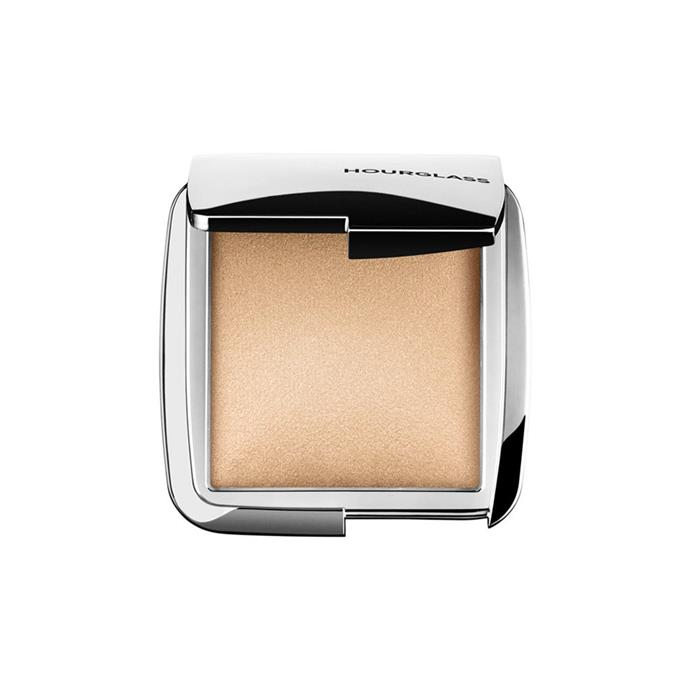 "Hourglass Ambient Strobe Lighting Powder, $55 at [Mecca](https://www.mecca.com.au/hourglass/ambient-strobe-lighting-powder-brilliant-strobe-light/I-023219.html|target=""_blank""
