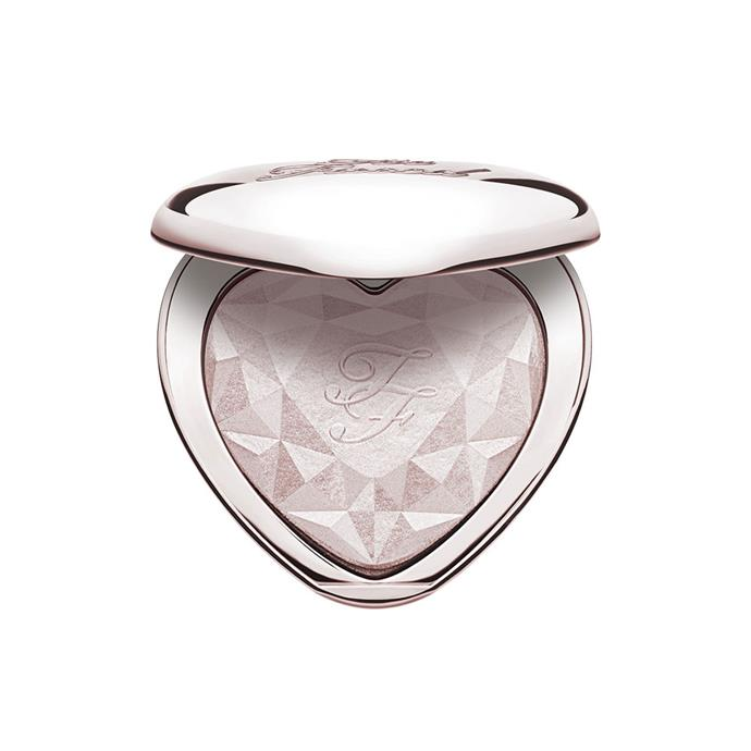 "Too Faced Love Light Prismatic Highlighter, $44 at [Mecca](https://www.mecca.com.au/too-faced/love-light-prismatic-highlighter-ray-of-light/I-027445.html|target=""_blank""