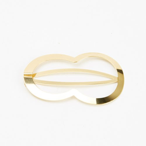 "Clinq Sophie Gold-Plated Hair Clip, $115 at [My Chameleon](https://www.mychameleon.com.au/new-arrivals/accessories/sophie-gold-plated-hair-clip-clinq|target=""_blank"")."