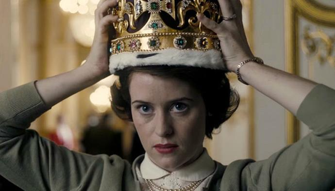 **3. The Crown** <br><br> *The Crown* explores the private life of the reigning monarch, Queen Elizabeth II, and the antics that go on behind the scenes. Claire Foy's performance won her a Golden Globe, just one of many awards the critically acclaimed series has to its name. In fact the show is so well done that members of the royal family, including the Queen herself, are rumoured to be dedicated fans.