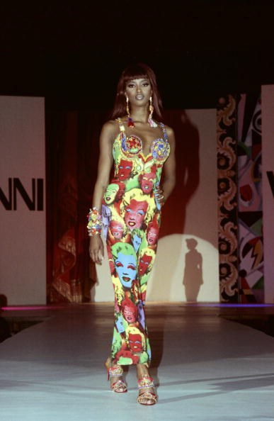 Gianni Versace Fashion Show in 1991