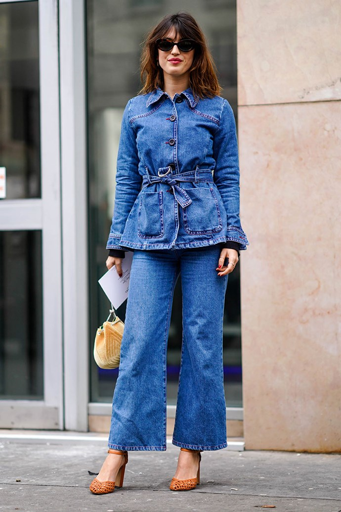 **Double Denim**
