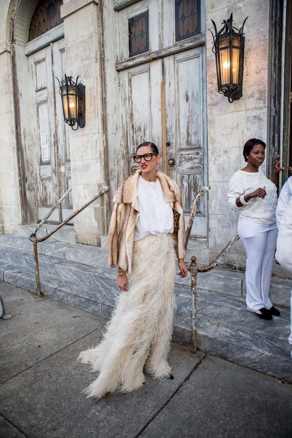 Jenna Lyons at the wedding of Solange Knowles
