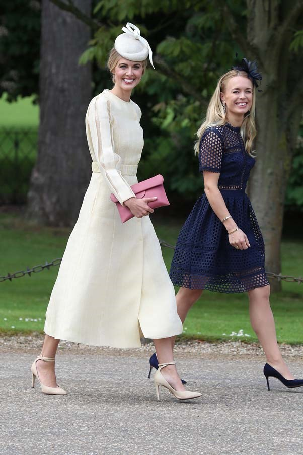 Donna Air at the wedding of Pippa Middleton