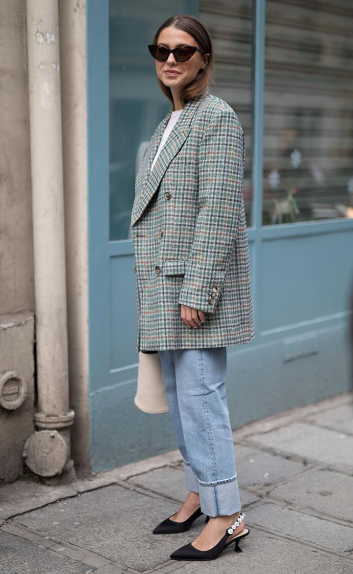 **Plaid Overcoats**