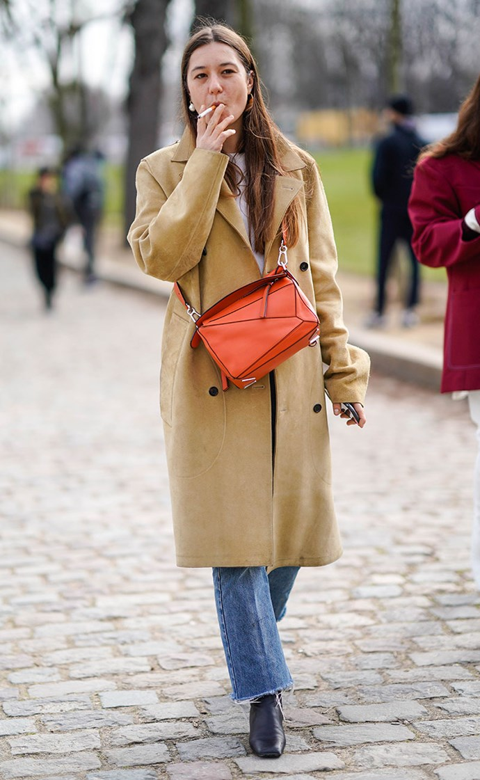 **Classic Camel Trench**