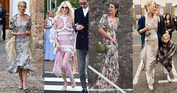 Wedding Guest Outfit Ideas From Celebrities Harper S Bazaar Australia