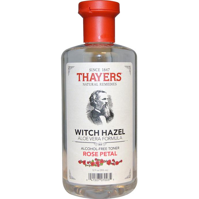 "[Thayers Witch Hazel Alcohol Free Toner from $7.](https://www.amazon.com.au/Thayers-Witch-Hazel-Alcohol-Toner/dp/B01MT65VJ3|target=""_blank"")"