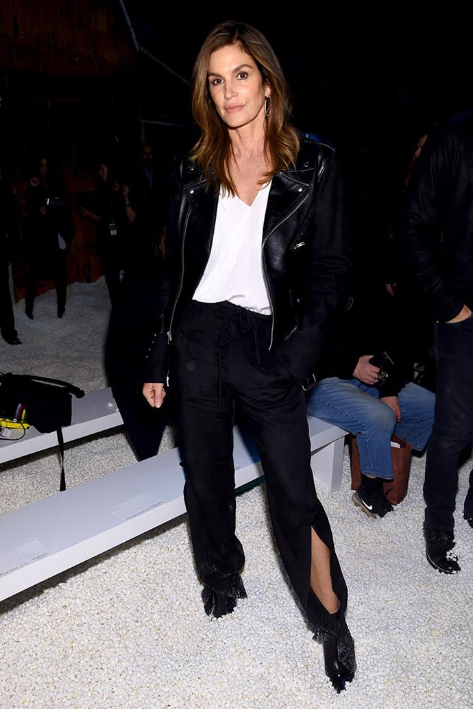 **Cindy Crawford**, *52* <br><br> As her daughter Kaia Gerber makes waves in the modelling industry, it looks as if Cindy Crawford isn't ready to leave her place as fashion's most iconic muse.