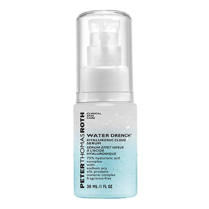 "**If you like:** The Ordinary Hyaluronic Acid 2% + B5  **Try:** Peter Thomas Roth Water Drench Hyaluronic Cloud Serum, $89, at [Sephora](https://www.sephora.com.au/products/peter-thomas-roth-water-drench-hyaluronic-cloud-serum/v/default|target=""_blank"")"