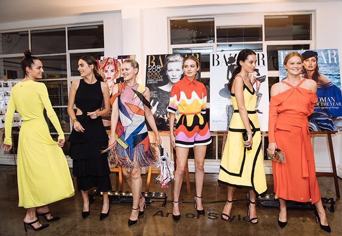 """Art of Style: (from left) Emilio Pucci neon ribbed-knit top and chiffon skirt; Proenza Schouler cutout tiered midi dress; Christopher Kane tassel midi dress, Emilio Pucci fringed shoulder bag; Emilio Pucci romper; J.W.Anderson two-tone midi dress, Edie Parker acrylic clutch; Proenza Schouler layered top and tie-front midi skirt, Charlotte Olympia clutch all from [THE OUTNET.COM](https://ad.doubleclick.net/ddm/trackclk/N209203.285409HARPERBAZAARAU/B20846970.218258125;dc_trk_aid=416905610;dc_trk_cid=91776388;dc_lat=;dc_rdid=;tag_for_child_directed_treatment=