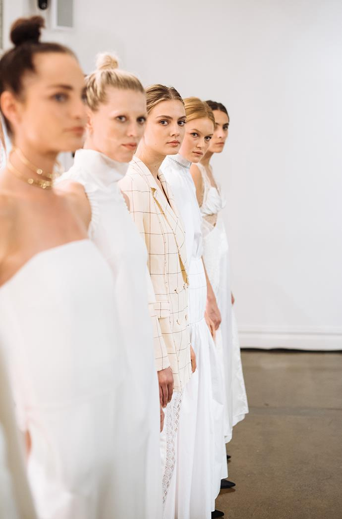 White Hot: An all-white look is an iconic play for summer and a refresh for an autumn wardrobe, whether simple denim pieces or a classic crisp white shirt.