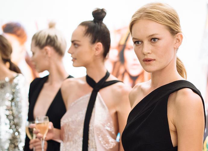 True Glamour: A sophisticated, elegant yet playful take on eveningwear.