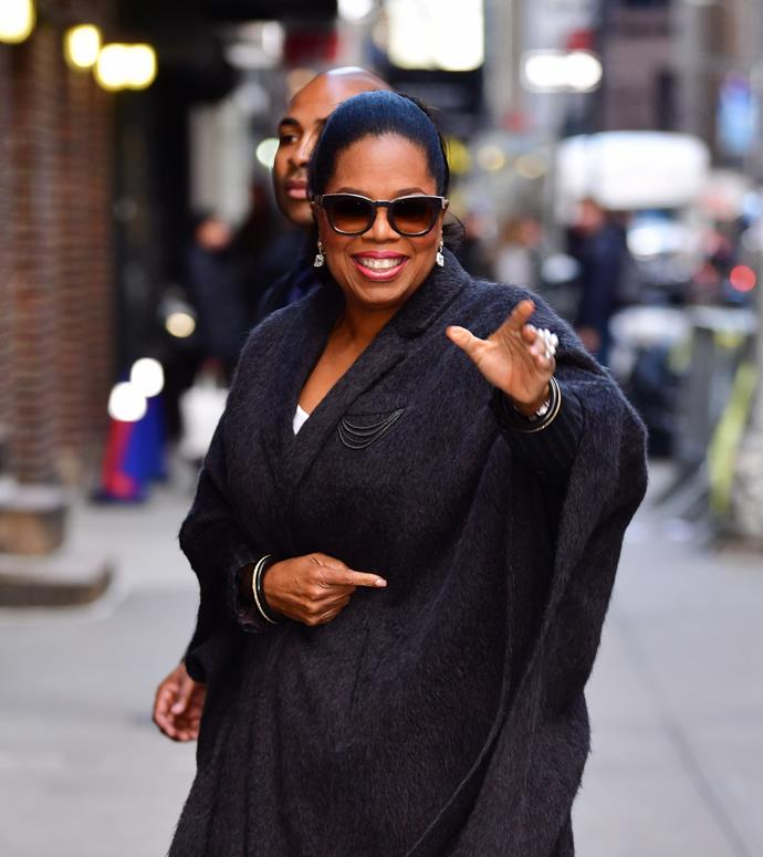 "**OPRAH WINFREY** <br><br> With 2018 marking her record *ninth* listing, [Oprah Winfrey](https://www.harpersbazaar.com.au/celebrity/oprah-donation-march-for-our-lives-gun-control-15820|target=""_blank"") is no stranger to the *TIME* Most Influential List—but comedian Tiffany Haddish's emotional tribute to Winfrey was testament to Winfrey's untouchable status in popular culture, and her place in the hearts of millions around the world.  <br><br> Haddish wrote ""Oprah had the roughest childhood and has gone through all these difficulties, but no matter what, she stays focused on her goals and achieves them. She made her dreams come true. And because I watched her, I did too."""