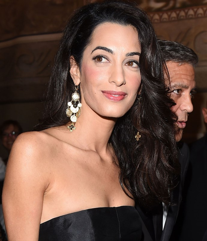 Pictured in September 2014 at the Celebrity Fight Night In Italy Gala in Florence.   Image: Getty