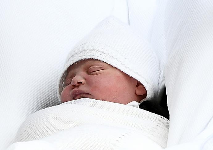 The Duke of Cambridge, Prince William, and the Duchess of Cambridge, Kate Middleton, with their third child.
