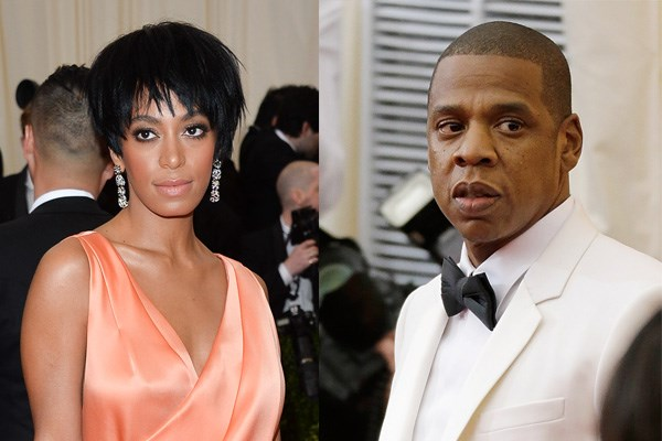 """**2014: SOLANGE AND JAY-Z** <br><br> The drama between Beyoncé's sister Solange Knowles and Jay-Z on the night of the 2014 Met Gala spread around the globe immediately, and instantly became tabloid fodder for a plethora of cheating rumours.  <br><br> Days after the 2014 ball, security footage was obtained by [*TMZ*](http://www.tmz.com/2014/05/12/jay-z-solange-fight-elevator-video-beyonce-met-gala/ target=""""_blank"""" rel=""""nofollow"""") showing Solange physically attack Jay-Z in an elevator with his wife Beyoncé, and a member of security trying to bring a halt to the confrontation.  <br><br> While Beyoncé, Jay-Z and Solange have been hesitant to discuss what actually caused the mysterious fight, Beyoncé finally addressed rumours of her husband's infidelity on her 2016 album *Lemonade*—leading many to believe Jay-Z's cheating was what provoked the elevator scuffle. But, like much of the Knowles-Carter family's lives, the true specifics are anyone's guess."""