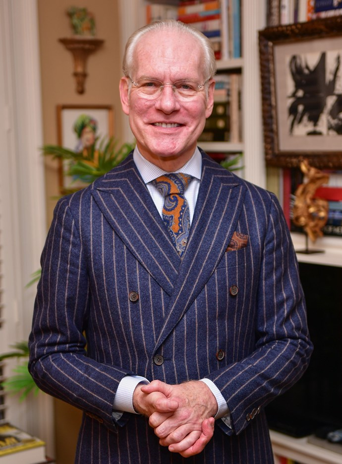 """**EVERY YEAR: TIM GUNN** <br><br> *Project Runway* host and ex-Parsons chair Tim Gunn has long been vocal about his disdain for the Met Gala as a whole; and especially for event chair Anna Wintour. Gunn cited an experience where he was [uninvited from the gala](https://pagesix.com/2017/04/29/inside-the-pettiness-and-politics-of-anna-wintours-met-gala/ target=""""_blank"""" rel=""""nofollow"""") because he recounted an occasion he saw Wintour be carried down two flights of stairs by her security guards.  <br><br> Since then, Gunn has been especially dismissive of Wintour's public persona; even calling her a [""""history revisionist""""](https://www.usmagazine.com/celebrity-news/news/tim-gunn-on-hostile-anna-wintour-relationship-history-revisionist-2015309/ target=""""_blank"""" rel=""""nofollow"""").  <br><br> """"In her mind it never happened, basically."""""""