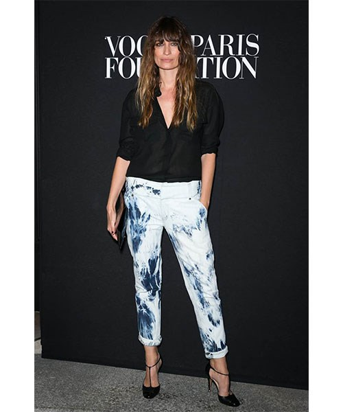 <strong>CLASSIC SILK BLOUSE</strong> <br>There's no wardrobe staple quite so versatile as a classic blouse – and the French prefer to wear them rolled up at the sleeves and buttoned down to show just the right amount of skin. <br><em>Caroline de Maigret </em>