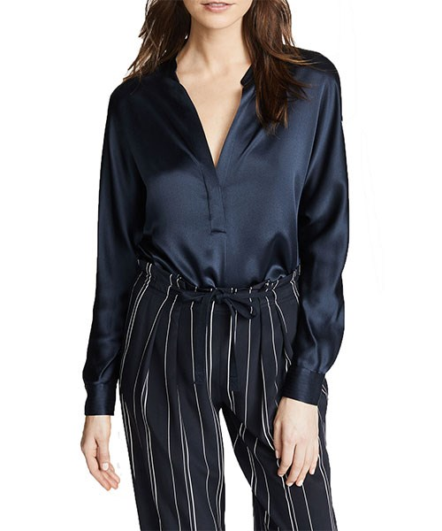 """Vince Collar Band Blouse, $417, at [Shopbop](https://www.shopbop.com/collar-band-blouse-vince/vp/v=1/1571750839.htm?folderID=13341&fm=other-shopbysize-viewall&os=false&colorId=14121