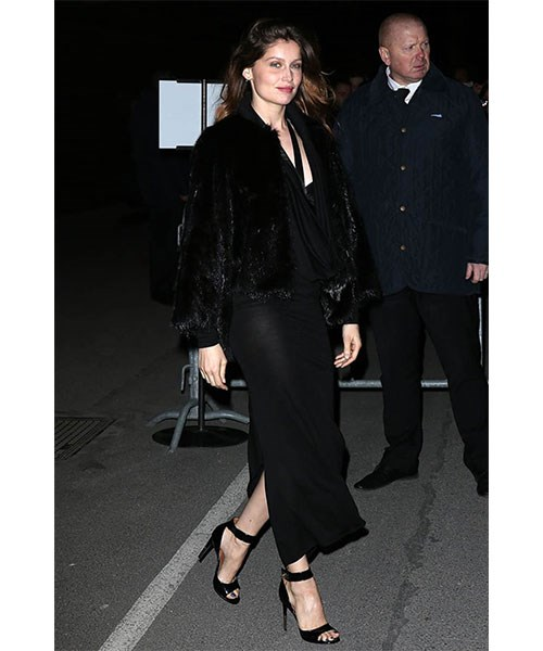 <strong>ANKLE STRAP HEELS</strong> <br>With their tendency to show off their ankles (think: cropped pants, minis, point pumps), this style of shoe works overtime for the French, drawing attention to the thinnest part of the leg and adding a feminine touch to any outfit. <br><em>Laetitia Casta</em>