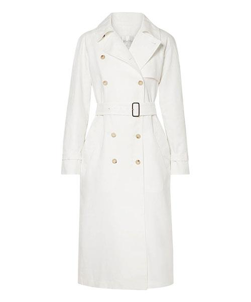 """Max Mara Azeglio Double-Breasted Linen Trench Coat, $1,725, at [Net-A-Porter](https://www.net-a-porter.com/au/en/product/1024131/max_mara/azeglio-double-breasted-linen-trench-coat