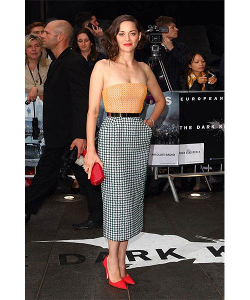 <strong>A WELL TAILORED PENCIL SKIRT</strong> <br>Elegant and polished, a well-tailored pencil skirt adds sophistication to any outfit. <br><em>Marion Cotillard</em>