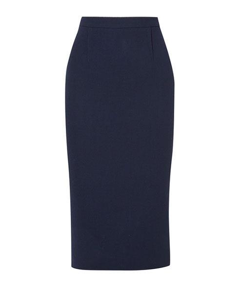 "Roland Mouret Arreton Wool-Crepe Pencil Skirt, $665, at [Net-A-Porter](https://www.net-a-porter.com/au/en/product/996130/roland_mouret/arreton-wool-crepe-pencil-skirt|target=""_blank"")."